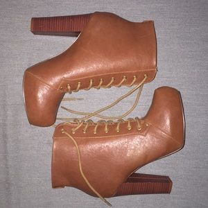 Aldo Heeled Combat Boots